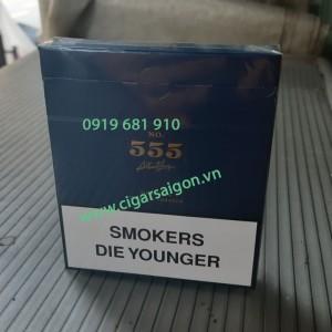 Thuốc Lá 555 Trắng Anh tẹt xanh, Thuốc lá anh tẹt xanh, Thuốc lá ba số xanh, Thuốc lá 3 số xanh