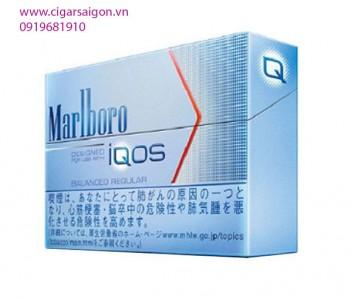 Thuốc lá điện tử Marlboro IQOS Balanced Regular – vị truyền thống đậm vừa phải