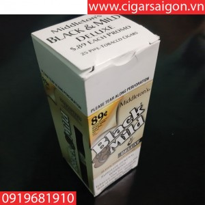 Cigar Black mild-USA deluxe box 25 sticks( xì gà sữa black mild hộp 25 điếu)