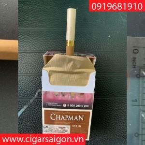 Xì gà Chapman No.4 Coffee mới, Chapman cafe lớn, Chapman cafe điếu lớn