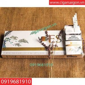 Thuốc lá Esse golden leaf 1mg trắng - hàng duty free Hàn Quốc trắng
