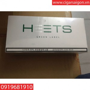 Thuốc IQOS Heets Green label hàn
