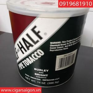 Thuốc hút tẩu Half and Half hộp lon-396 gram