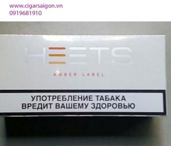 Thuốc lá điện tử Heets IQOS Amber Label-Nga