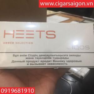 Thuốc lá điện tử Heets IQOS Amber Selection-Nga
