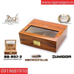 Hộp Giữ Ẩm Xì Gà ( Humidor) RA-957-2-1
