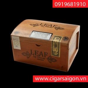 Xì Gà Leaf by Oscar Hộp Gỗ Sample 20's ring 52