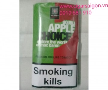 Thuốc lá cuốn tay Mac Baren Double Apple Choice