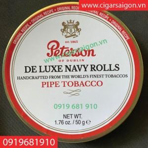 Thuốc hút tẩu Peterson de luxe Navy Rolls