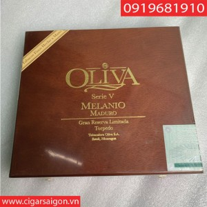 cigar Oliva Series V Menanio maduro Topedo Hộp 10