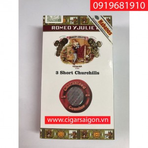 Romeo Y Julieta short churchill gói 3 điếu
