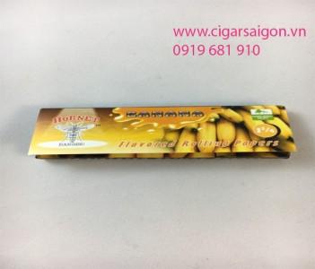 Giấy cuốn thuốc lá cuộn tay Hornet Banana 1 1/4