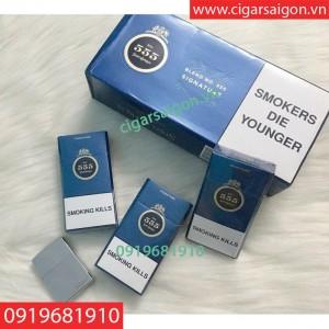 Thuốc Lá 555 Xanh Singapore Anh , Thuốc lá anh Singapore, Thuốc lá ba số xanh singapore, Thuốc lá 3 số xanh singapore