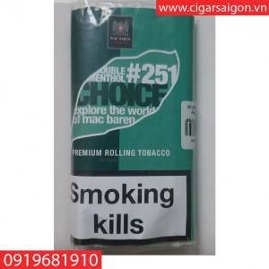 Thuốc lá cuốn tay Mac Baren Double menthol choice #251