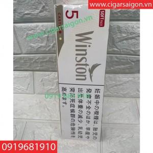 THUỐC LÁ WINSTONE CASTER 5 MỀM, THUỐC LÁ WINSTONE CASTER 5 CÂY MỀM