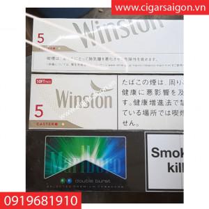 THUỐC LÁ WINSTON CASTER 5, THUỐC LÁ WINSTON CASTER 5 BAO CỨNG, THUỐC LÁ WINSTON CASTER 5 HỘP
