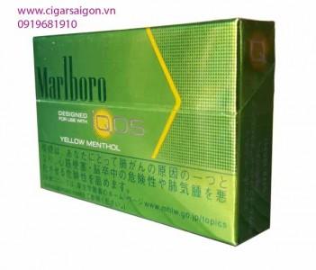 Thuốc lá điện tử Marlboro IQOS Yellow menthol_ Vị Bạc hà - Chanh
