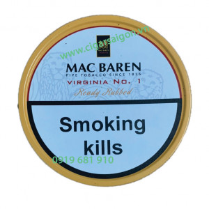 Mac Baren Virginia No.1 Ready Rubbed