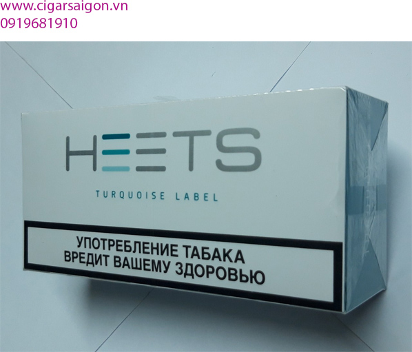 Thuốc lá điện tử Heets IQOS Turquoise label-Nga