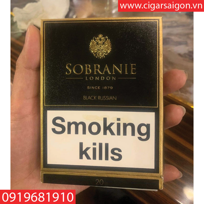 THUỐC SOBRANIE BLACK RUSSIAN-LONDON